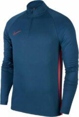 Nike Dry Academy Drill Top Sporttrui - Maat S - Unisex - blauw/roze