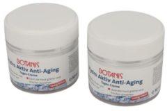BOTANIS Hydro Aktiv Anti-Aging Tages Creme 2x50ml