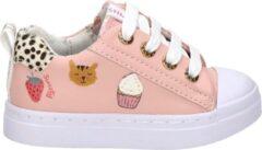 Shoesme roze sneaker met vrolijke print (SH21S002-B). Maat 24