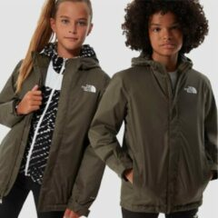 The North Face - Kid's Snow Quest Jacket - Ski-jas maat XS, grijs/zwart