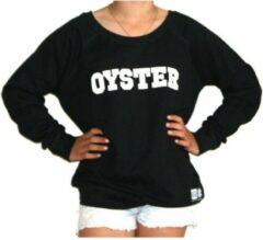 Addmyberry - Trui - Zwart - Oyster - M