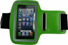 Eforyou - huismerk Sport armband voor iPhone 5 5S 5C SE & iPod touch v5 v6 - groen