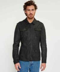 Zwarte Shirt076 - black - 100002008 - M goosecraft