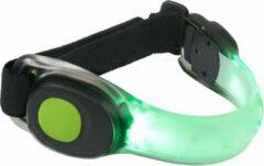 INVINCER Led Glow armband hardlopen Groen - hardloop verlichting - running light - safety sport armband - veiligheidsarmband - reflecterend - Lampje Hardlopen - veiligheidsband - Groen