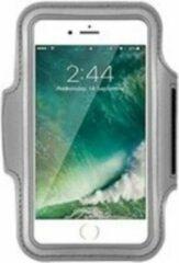 Hardloop Telefoonhouder Armband | Speciaal voor Samsung Galaxy A40 | Zilver