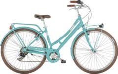 28 Zoll Damen City Fahrrad 7 Gang Alpina Velvet... blau