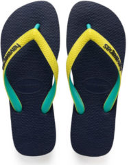 Havaianas Slippers Flipflops Top Mix Blauw Maat:41/42