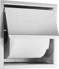 Roestvrijstalen Wagner Ewar GmbH Wagner-EWAR toiletrolhouder WP157 van RVS voor inbouw
