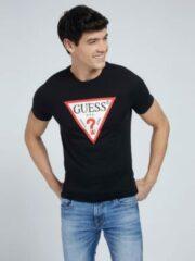 Zwarte T-Shirt Logo Driehoek