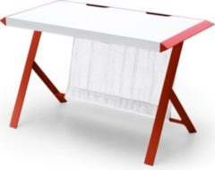 Schreibtisch weiss/ rot MCA-Furniture mcRacing