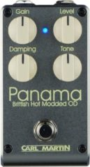 Carl Martin Panama Brittish Hot Modded Overdrive effectpedaal