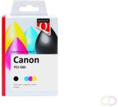 Inkcartridge Quantore Canon PGI-580XXL CLI-581XXL 2x zwart + 3 kleuren