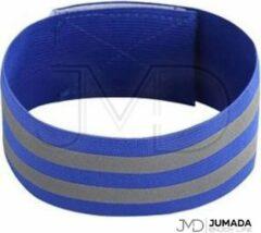 Jumada Reflecterende Hardloop Verlichting - Sportarmband - Veiligheid - One Size - Blauw