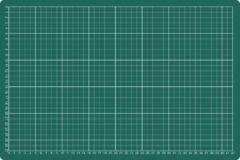 Snijmat Rillstab A3 450X300mm groen