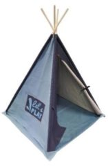 Overseas Tipi Tent Canvas Basic Soft Blue / Navy