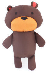 Bruine BecoPets Beco Plush Toy - honden knuffel - Large - Toby the Teddy