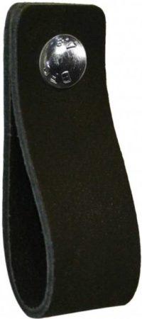 Afbeelding van NiiNiiX Leren handgreep Zwart - Maat M 3,0 x 17 cm;