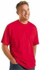Logostar Rood grote maten t-shirt 4XL