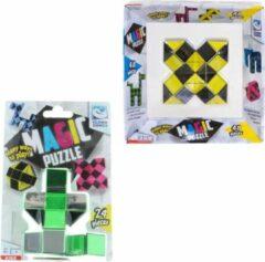 Clown Games Clown Magic Puzzle 48dlg Geel + Puzzle 3d 24 Dlg Groen