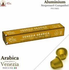 Italian Coffee - Arabica Venezia - 100 Koffiecups - Aluminium Capsules compatibel voor Nespresso® - PVC FREE