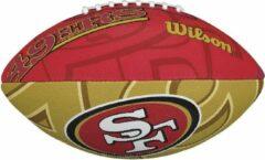 Rode Wilson F1534XB NFL Team Logo American Football 49ers