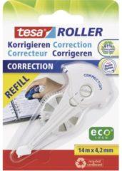 Tesa Navulcassette correctieroller ROLLER 59976 4.2 mm Wit 14 m 1 stuks