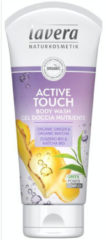 Lavera Douchegel/body wash active touch 200 Milliliter
