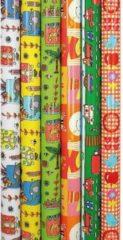Enper Hippo - Kinderen - Luxe Cadeaupapier - Inpakpapier - 200 x 70 cm - 5 rollen