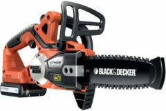 Oranje Black & Decker Accu Kettingzaag Gkc1820l20