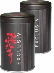 Oriental Teagarden Jasmijn Thee Parels in Luxe Theeblik Exclusiv (2 blikjes)