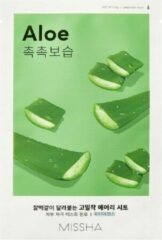 Missha - Airy Fit Sheet Mask (Aloe) Gezichtsmasker