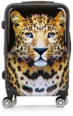 Pfeffinger Koffer-Set mit Leopardmotiv, 2tlg.