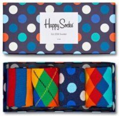 Sokken en panty's Gift Box Mix Lot de 4 by Happy Socks