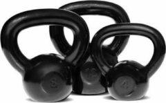 Zwarte Body-Solid - Kettlebell - Gietijzer - 24 KG