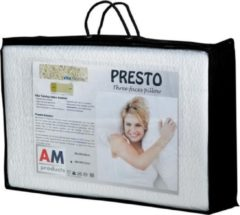 AM Products - Talalay Presto - Latex - Hoofdkussen - Wit - Medium - 12cm