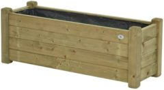 Groene Talen Buitenmeubelen Bloembak 40x120cm