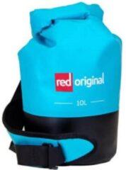 Red Paddle - Drybag - 10 Liter - Aqua Blauw - Waterdichte tas - Suppen - Peddelen - Kajak - Kano - Dagje uit - Houd je spullen droog