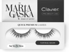 Clavier - Quick Premium Lashes Lashes On The Pass Say Yes To Mess 3D
