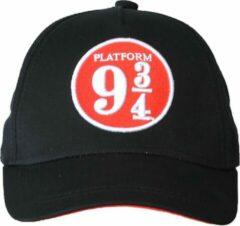 Harry Potter Platform 9¾ Full Volwassenen Cap Pet Zwart Rood