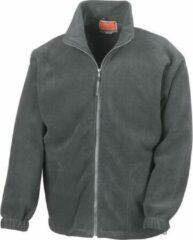 Grijze RESULT Fleece vest R036X Oxford greyXXL