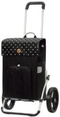 Zwarte Andersen Royal Boodschappentrolley Malit black Trolley