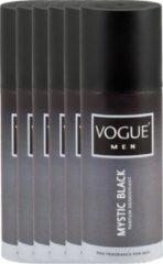 Vogue Men Parfum Deodorant Mystic Black Voordeelverpakking