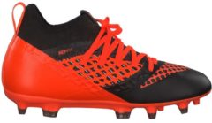 Fußballschuhe mit innovativer Netfit-Technologie Puma Puma Black-Shocking Orange