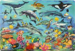 Blauwe Eduplay Puzzel Oceaan