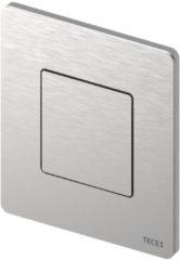 Roestvrijstalen Urinoir Bedieningsplaat TECE Solid 10,4x12,4 cm RVS Geborsteld inclusief Cartouche en Beschermlaag