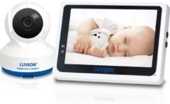 Witte Luvion Grand Elite 3 Connect - HD Wifi Babyfoon met Camera én App - Babyphone - Premium Baby Monitor