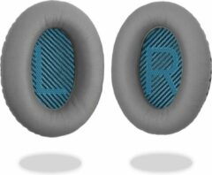 Mix-Media Oorkussens voor Bose QuietComfort 35 ii / 35 / 25 / 15 / 2 / AE2 / AE2W / AE2I - Oorkussens voor koptelefoon - Ear pads headphones grijs / blauw