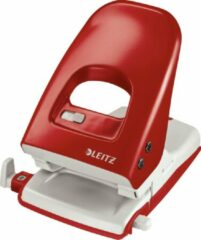 Rode Perforator Leitz 5138 2-gaats 40vel rood