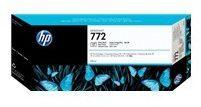 HP 772 - Inktcartridge / Foto Zwart / 300 ml (CN633A)