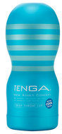 Blauwe Tenga Cool Edition Deep Throat Cup - Vibrator - Masturbator